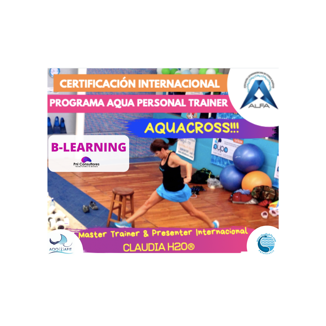 Certificación de Aquacross B-LEARNING-Programa Internacional de Aqua Personal Trainer